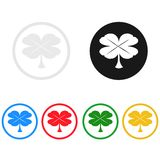 Clover icon,sing,illustration. Clover icon,sing,best illustration Royalty Free Stock Image