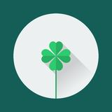 Clover icon Royalty Free Stock Photo