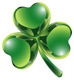Clover leaf. Celebrate the St. Patrick's day of Ireland Stock Images