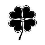 Clover leaf isolated icon Stock Photos