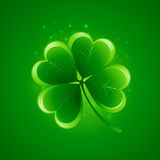 Clover leaf. Saint Patricks Day. Vector. Illustration. EPS 10 Stock Images