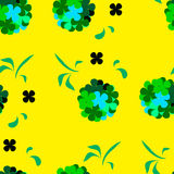 Clover for lucky. The composition of the petals clover for luck Stock Image