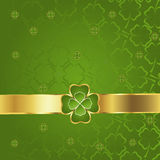 Clover pattern Stock Photos