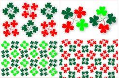 Clover pattern Stock Photo