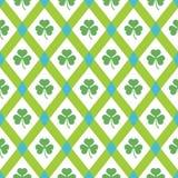 Clover pattern. Stock Photos