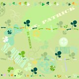 Clover pattern Stock Photography