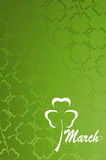 Clover pattern Royalty Free Stock Image
