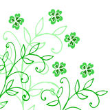 Clover pattern Stock Photo