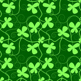 Clover pattern. Ready for tile Stock Photo