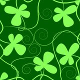 Clover pattern. Ready for tile Royalty Free Stock Photography