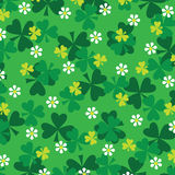 Clover pattern Stock Image