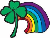 Clover Rainbow Royalty Free Stock Photos