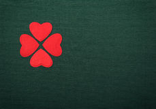 Clover red Royalty Free Stock Images