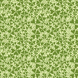 Clover seamless background. Royalty Free Stock Photos
