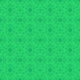 Clover seamless pattern in Celtic Style. St. Patrick`s Day endle Royalty Free Stock Photography