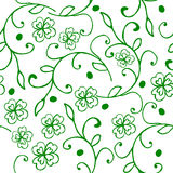 Clover seamless pattern Royalty Free Stock Photo