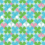Clover Seamless Pattern Royalty Free Stock Photos