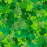 Clover seamless pattern. Vector illustration Stock Photography