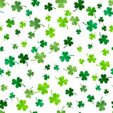Clover seamless pattern. Vector illustration Royalty Free Stock Image