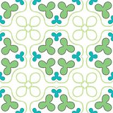 Clover seamless texture Stock Images