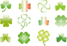 Clover or shamrock  for St Patrick's day Royalty Free Stock Photography