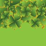 Clover for St. Patrick's Day Royalty Free Stock Images