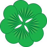 Clover symbol Royalty Free Stock Images