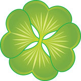 Clover symbol Royalty Free Stock Photography
