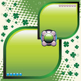 Clover theme Royalty Free Stock Photo