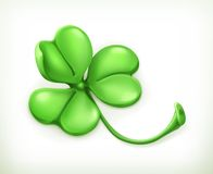 Clover vector icon Stock Images