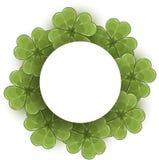 Clover wreath Royalty Free Stock Photo