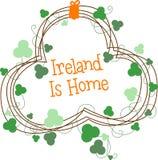 Clover Wreath Ireland Stock Photos