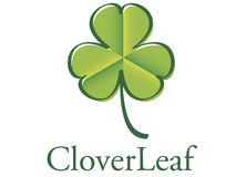 CloverLeaf2 logo Royalty Free Stock Photo