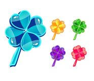 Clovers Royalty Free Stock Images