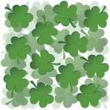 Clovers background Royalty Free Stock Images