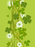 Clovers background Stock Photo