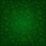 Clovers background on St. Patrick's Day. Clovers background for Happy St. Patrick's Day - holiday's concept Royalty Free Stock Photos