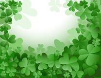Clovers garden Royalty Free Stock Photo
