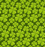 Clovers seamless pattern Royalty Free Stock Images