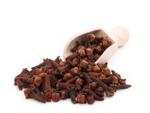Cloves. On white background isolated Stock Photo