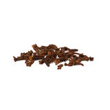 Cloves. Several cloves  on white background close-up Stock Images