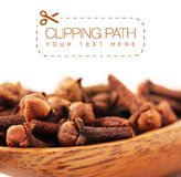 Cloves with clipping path - 2 Royalty Free Stock Image