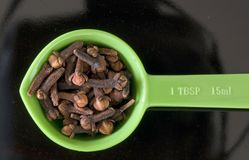 Cloves close-up Royalty Free Stock Images
