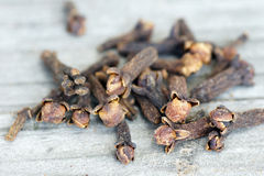 Cloves closeup Stock Images