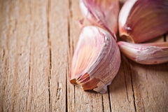 Cloves of garlic Stock Images