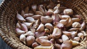 Cloves of garlic An important ingredient of Thai food. garlic. stock image