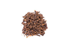 Cloves isolated on white background Stock Images