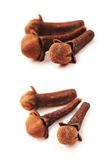Cloves set with clipping path Royalty Free Stock Image