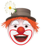 Clown 1. 2D image made in Illustrator Royalty Free Stock Images