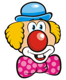 Clown. Illustration colors 2D nice Royalty Free Stock Photography